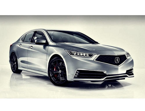 2018 Acura Tlx A Mild Facelift May Be On Its Way New Cars Magazine