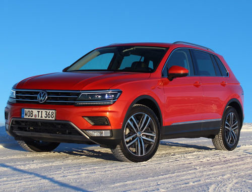 2018 Vw Tiguan Featured