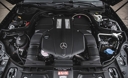 2018-Mercedes-CLS-engine