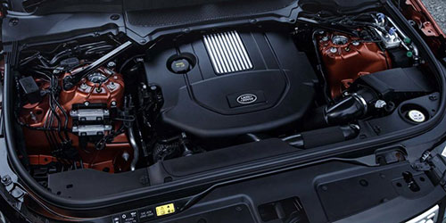 2018-Land-Rover-Discovery-SVX-engine
