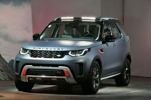 2018 land rover discovery svx review engine specs release date performance and price tag. Black Bedroom Furniture Sets. Home Design Ideas