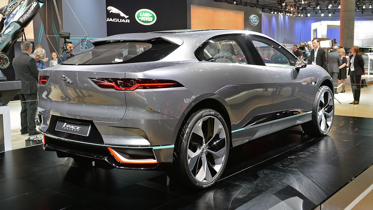 2018 JAGUAR I-PACE – Gorgeous All-Electric Crossover - New ...